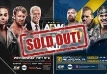 AEW Episode 2 & 3 Sold Out