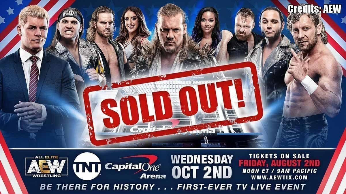 AEW TV Debut Sold Out
