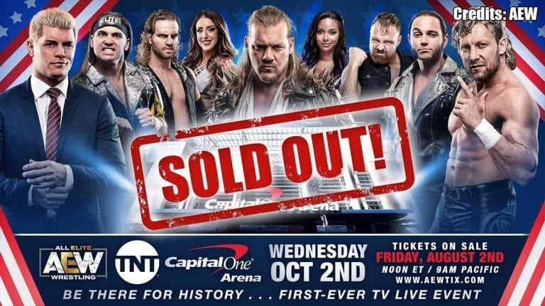 AEW TV Debut on TNT Sold Out Under 2 Hours
