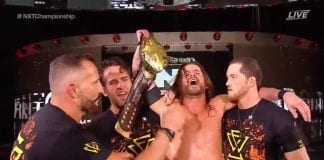 Adam Cole Defeated Johnny Gargano NXT Takeover Toronto 2019