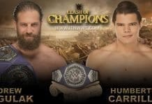 Drew Gulak vs Humberto Carrillo Cruiserweight Championship WWE Clash Of Champions 2019