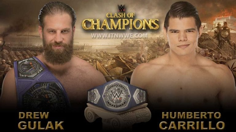 Humberto Carrillo Become #1 Contender for Clash of Champions