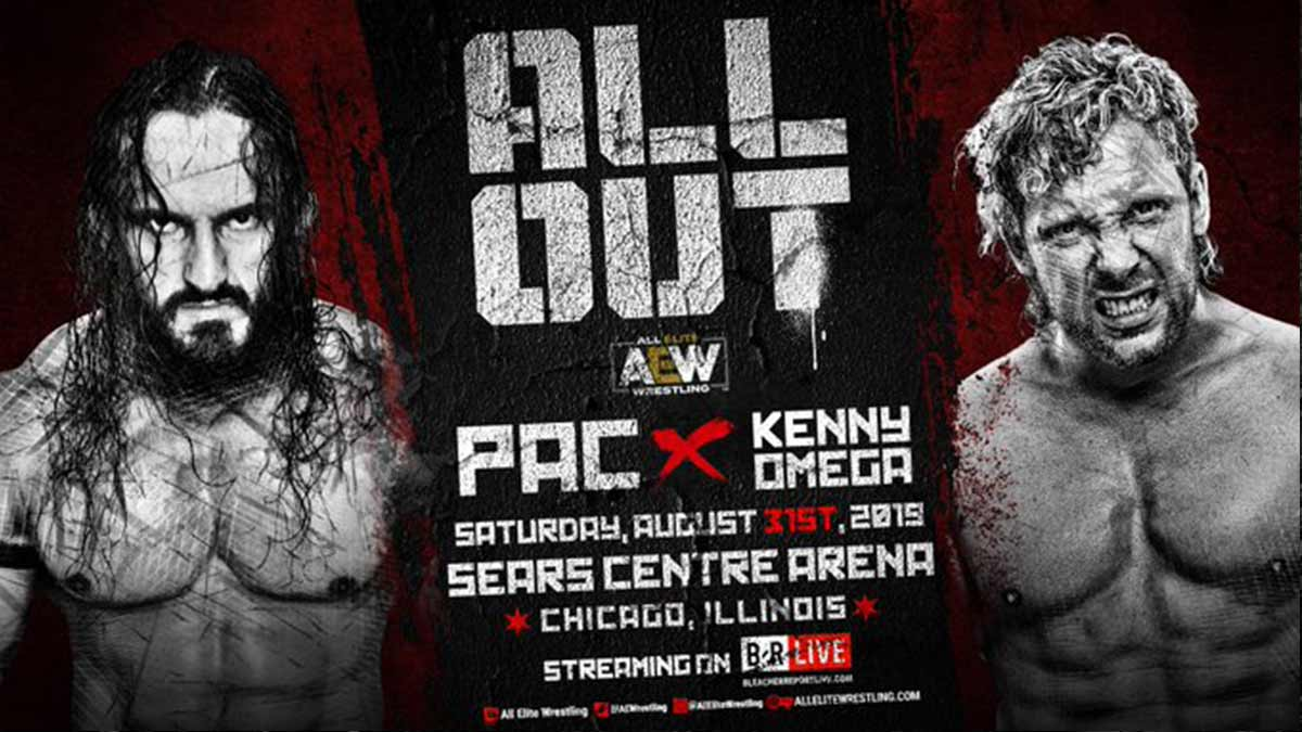 Kenny Omega vs PAC AEW All Out 2019
