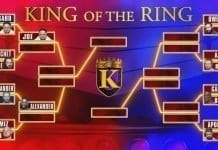 King of the Ring 2019 Updated Bracket