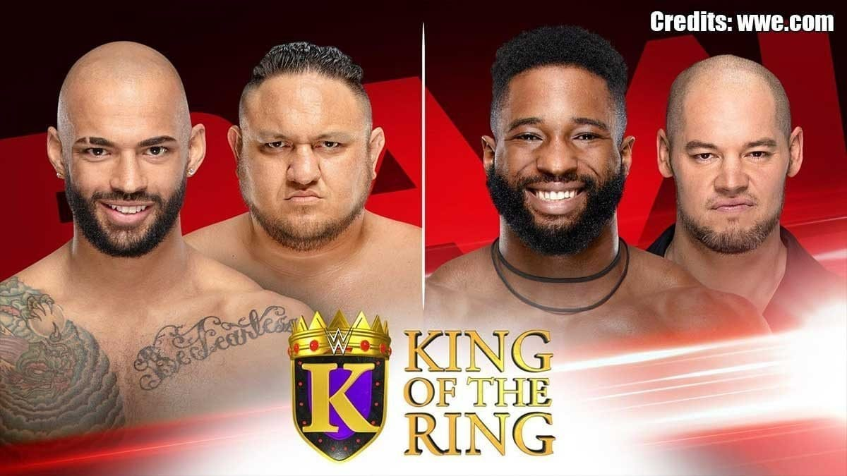 King of the Ring Matches RAW 2 Sept 2019