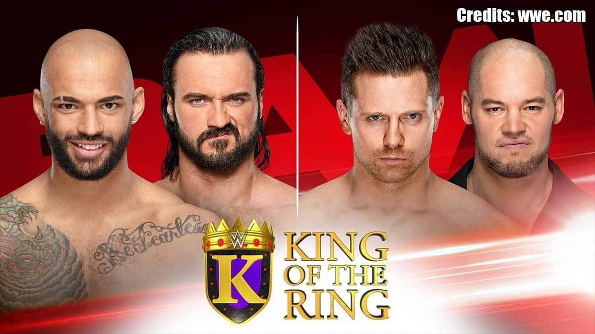 King of the Ring Matches RAW 26 August 2019