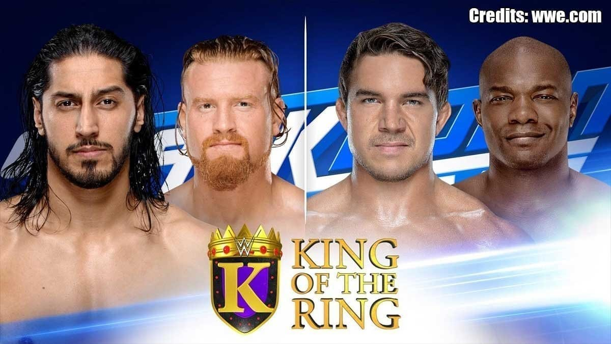 King of the Ring Matches SmackDown 27 August 2019
