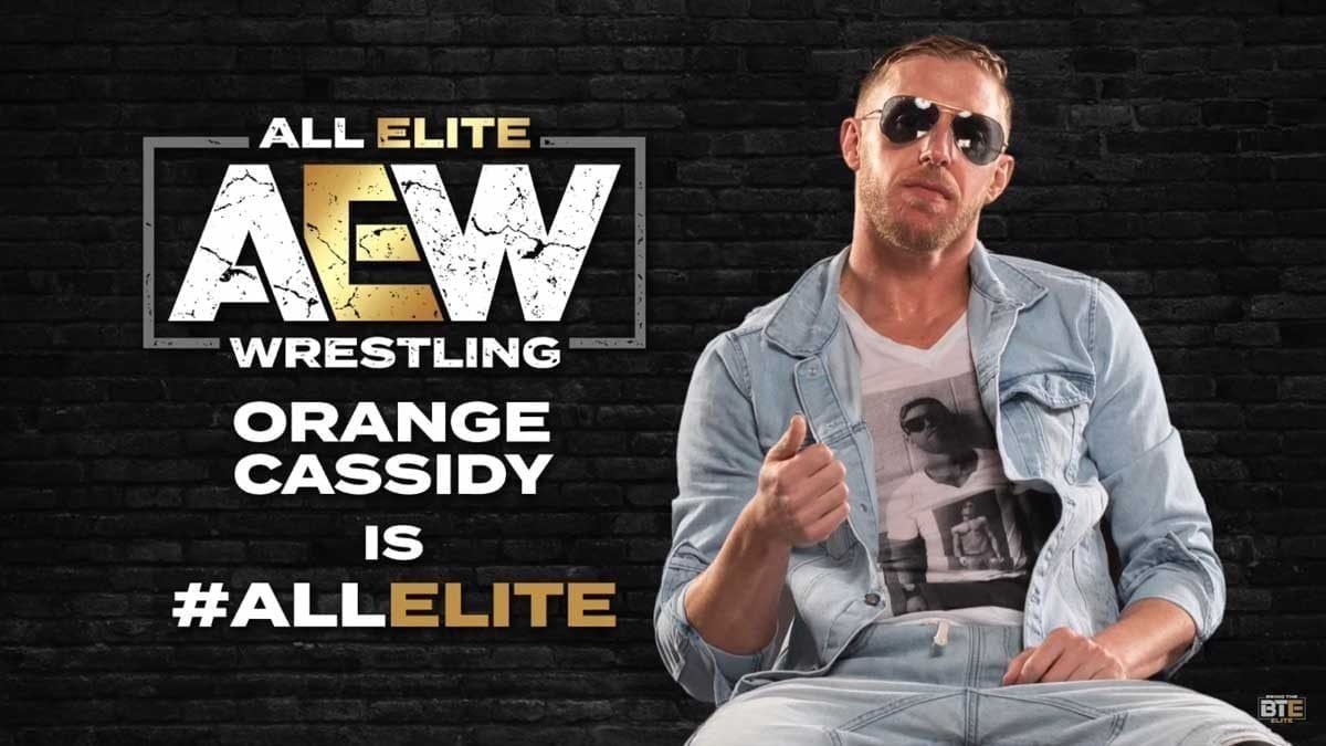 Orange Cassidy signs with All Elite Wrestling