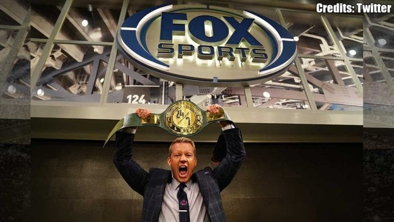 Fox Sports Host Rob Stone Became First non-WWE 24/7 Champion