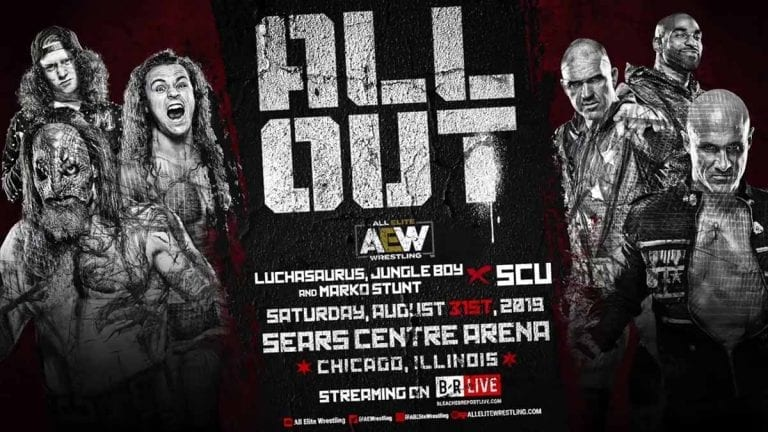 SCU to Face Luchasaurus, Jungle Boy & Stunt at AEW All Out