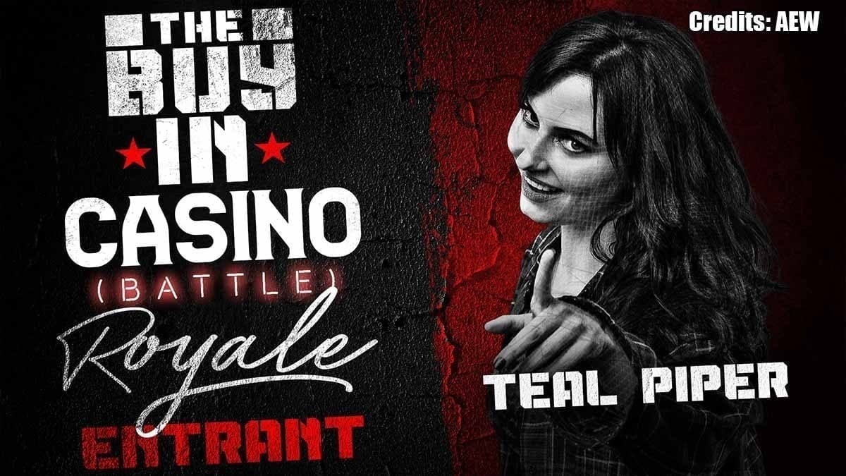 Teal Piper AEW All Out 2019 Battle Royal