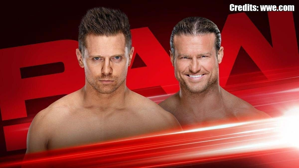 The Miz vs Dolph Ziggler RAW 12 August 2019