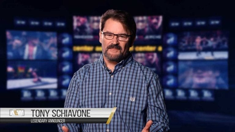 AEW Signs Tony Schiavone for Multi-Year Deal