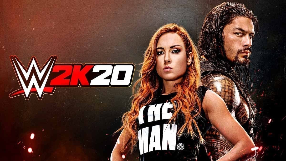 WWE 2K20 Game Official Cover