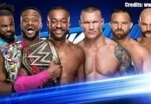 6 Men Tag Team Match SmackDown 17 September 2019