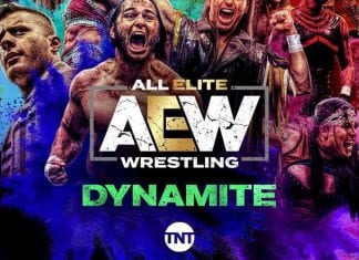 All Elite Wrestling Dynamite Poster