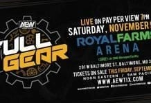AEW Full Gear 2019 Ticket Details