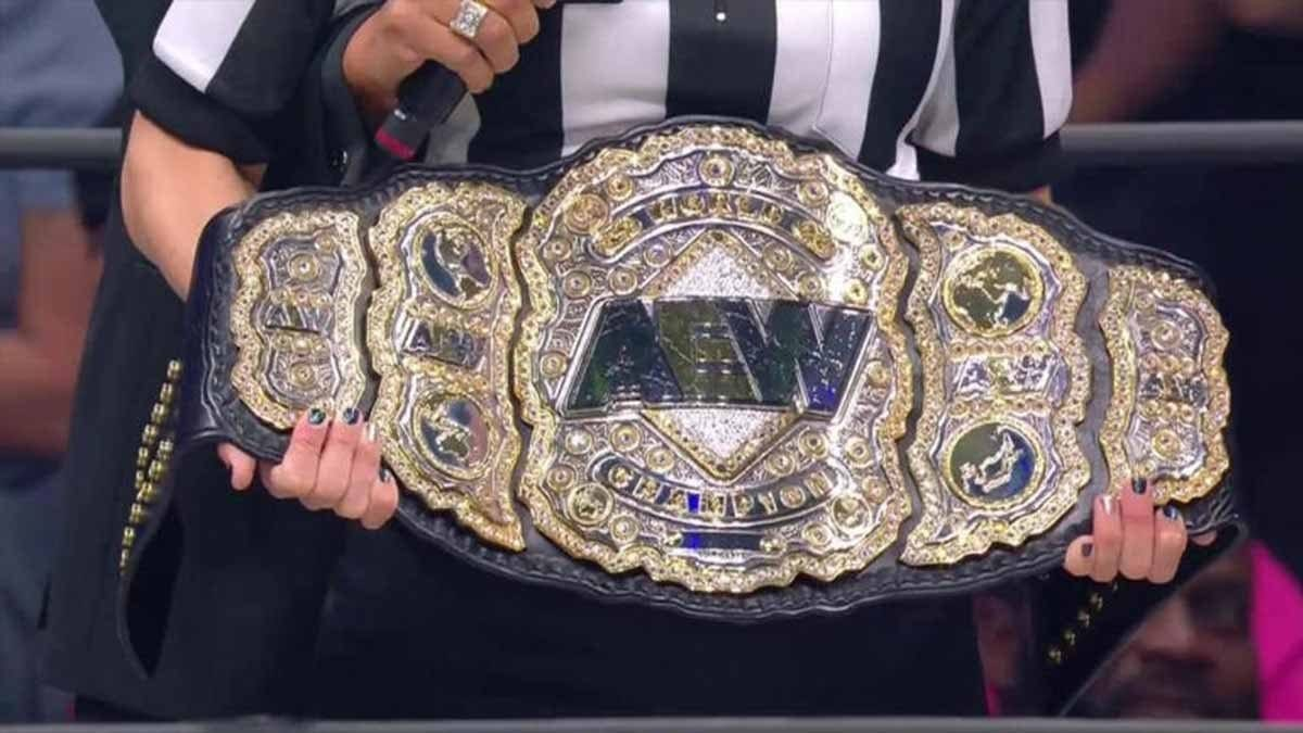 AEW World Championship Title Belt