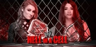 Becky Lynch vs Sasha Banks Raw Women's Tag Team Championship at Hell In A Cell 2019