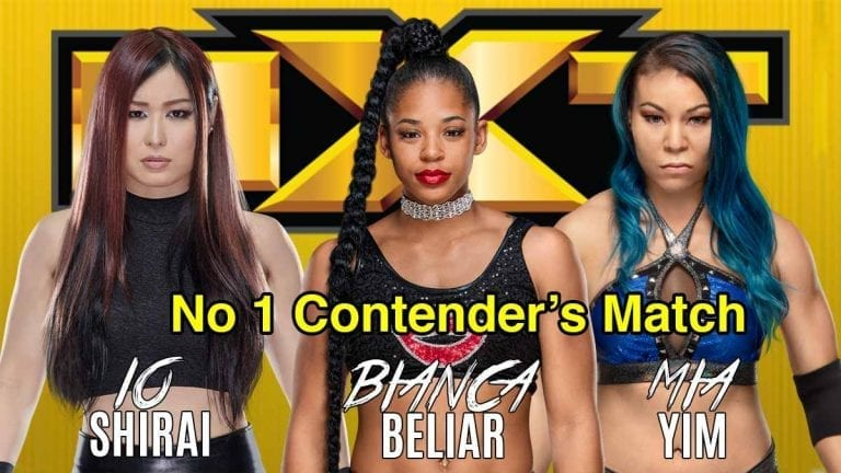 NXT Women's title No #1 Contender Match Changed to Fatal 4-Way