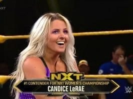 Candice LeRae Become No #1 Contender for NXT Women's Championship