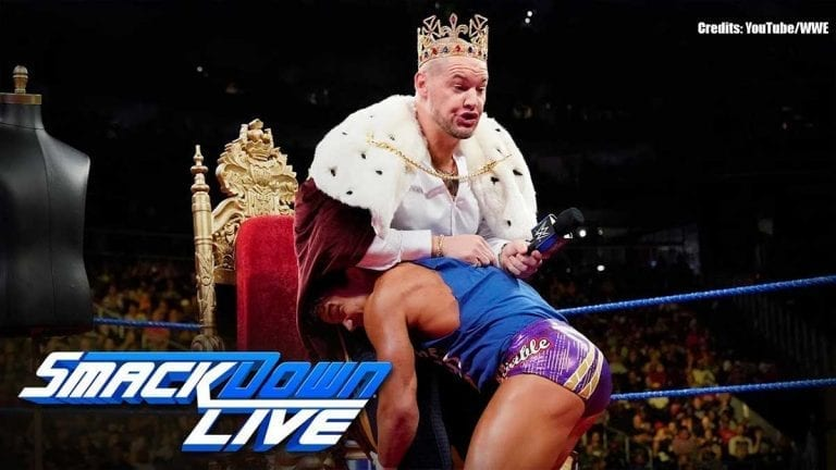 Chad Gable Destroys Corbin's Crown After His Coronation