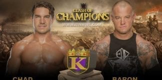 Chad Gable vs Baron Corbin King Of Ring Final at WWE Clash Of Champions 2019