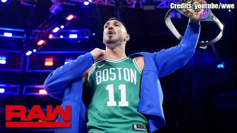 Enes Kenter Becomes WWE 24/7 Champion on RAW This Week