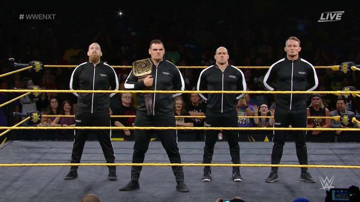 Imperium on NXT during USA Network Premiere
