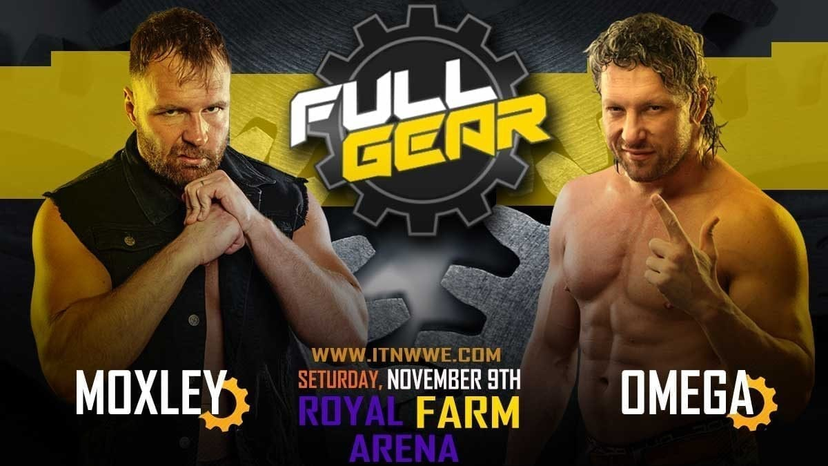 Jon Moxley vs Kenny Omega AEW Full Gear 2019