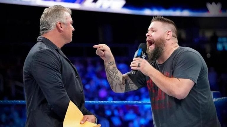 Kevin Owens-Shane McMahon Set For Ladder Match at Fox Premiere