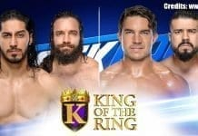King of the Ring Quarterfinals SmackDown 3 September 2019