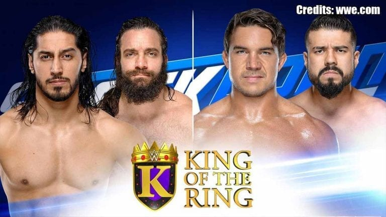 Chad Gable & Elias Advance to King of the Ring Semifinals