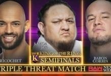 King of the Ring RAW Semifinal Set for Triple Threat