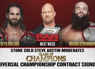 MSG Steve Austin Universal Championship Contract Signing