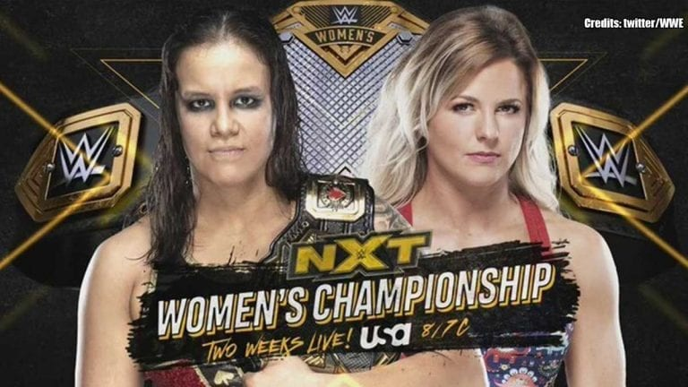 NXT Women's Title Match to Go Against AEW Dynamite Premiere
