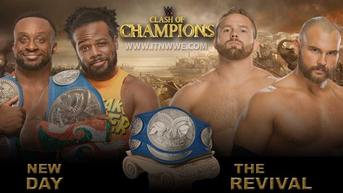 The New Day vs The Revival SmackDown Tag Team Championship WWE Clash Of Champions 2019