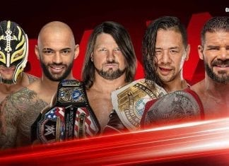 Fatal 5 Way Match for Universal Title No #1 Contender