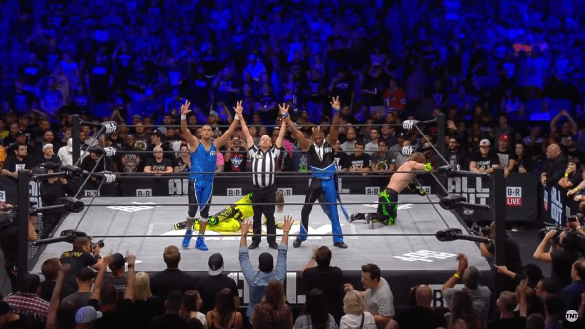 Private Party at AEW All Out 2019