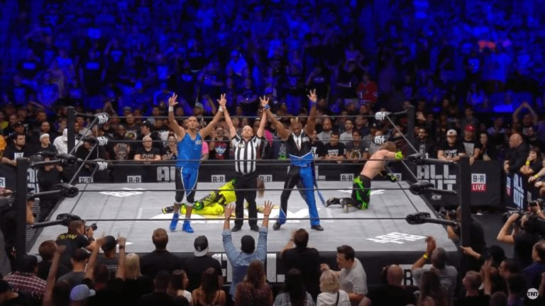AEW All Out 2019: Private Party Gets First AEW Win