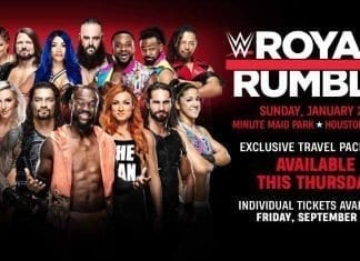 Royal Rumble 2020 Tickets Sales