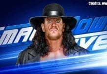 Undertaker SmackDown 10 September 2019