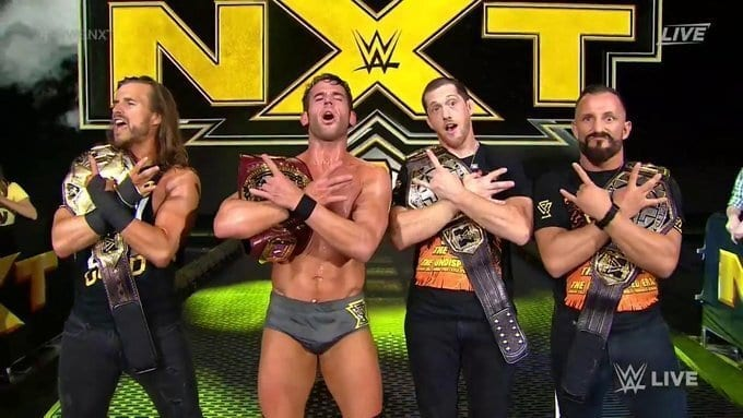 Undisputed Era Hold All 3 NXT Titles