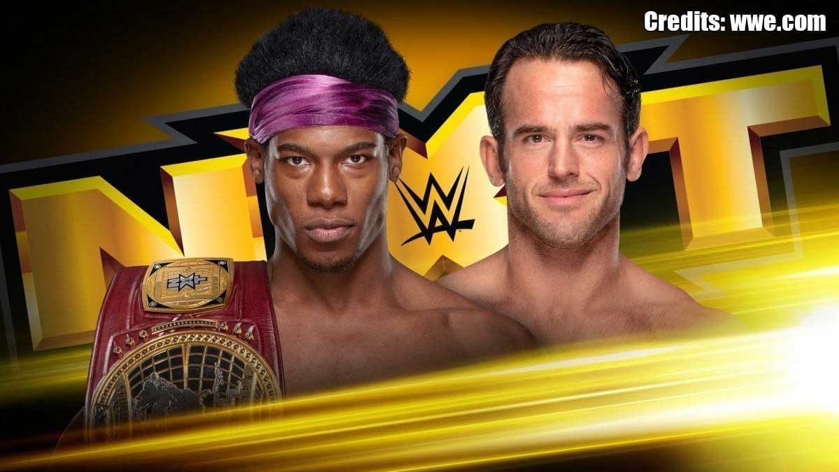 Velveteen Dream vs Rodrick Strong NXT USA Debut