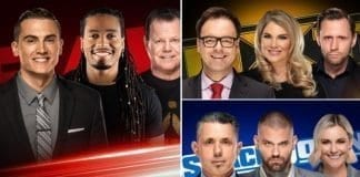 WWE Announced New Commentary Teams for RAW, SmackDown and NXT