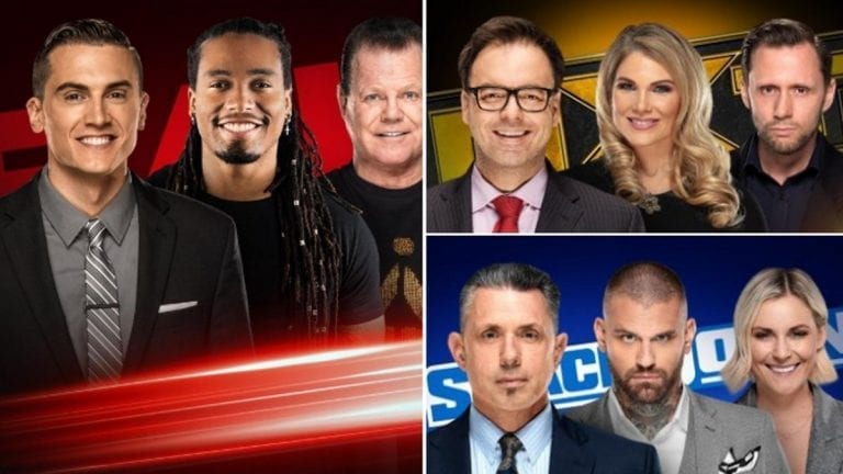 WWE Announced New Commentary Teams with Premiere Week Programs