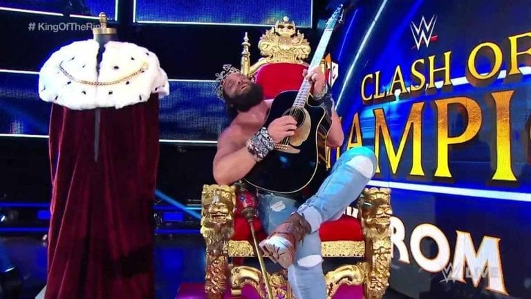Elias Out of King of the Ring Semifinal Due to Injury