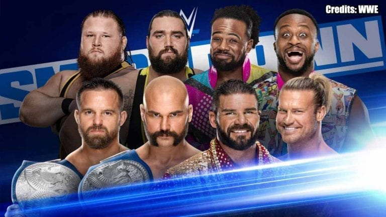 Big 8 Men Tag Match Announced for SmackDown This Week