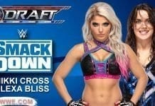 Alexa Bliss & Nikki Cross at SmackDown Draft