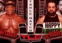Bobby Lashley vs Rusev TLC 2019